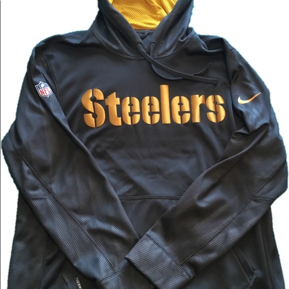 df6ef0413a2 Pittsburgh Steelers Hoodie - unique! M 5b8d4bc0b6a9420bfedfb7ee